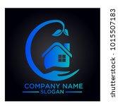 real estate logo graphic vector | Shutterstock .eps vector #1015507183