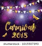 carnival brochure template for... | Shutterstock .eps vector #1015507393