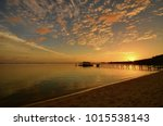 stunning scenery of sunrise... | Shutterstock . vector #1015538143