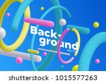 vector background with bright... | Shutterstock .eps vector #1015577263