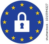gdpr general data protection... | Shutterstock .eps vector #1015594327