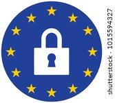 gdpr general data protection... | Shutterstock .eps vector #1015594327
