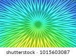 light blue  green vector... | Shutterstock .eps vector #1015603087