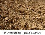 preparation of soil for... | Shutterstock . vector #1015622407