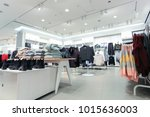 the clothing market is selling...   Shutterstock . vector #1015636003