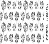 tropical leaves  jungle pattern.... | Shutterstock .eps vector #1015645477