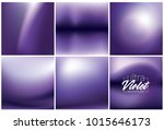 smooth blurred ultra violet... | Shutterstock .eps vector #1015646173