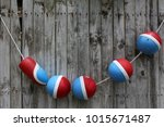 colorful red  white and blue... | Shutterstock . vector #1015671487