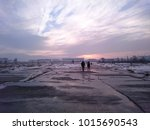 sunsets  clouds and people on... | Shutterstock . vector #1015690543