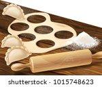 vector realistic concept... | Shutterstock .eps vector #1015748623