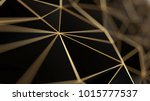 black and gold concept... | Shutterstock . vector #1015777537