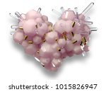 set of valentines hearts allows ... | Shutterstock . vector #1015826947