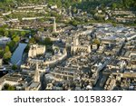 Bath City From The Air