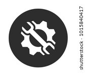 optimization simple vector icon. | Shutterstock .eps vector #1015840417