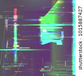 Glitch Pixel Noise Abstract...