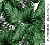 watercolor seamless pattern... | Shutterstock .eps vector #1015895743