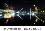 puente de la mujer in buenos... | Shutterstock . vector #1015958737