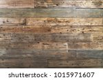 brown wood texture background | Shutterstock . vector #1015971607