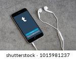 bangkok   jan 10  iphone6s open ... | Shutterstock . vector #1015981237