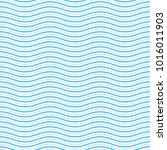 blue and white seamless wave... | Shutterstock .eps vector #1016011903