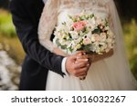 close up photo of a bridegroom... | Shutterstock . vector #1016032267