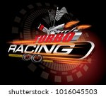 turbo racing icon concept vector | Shutterstock .eps vector #1016045503