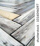 Angled Wood Deck   Natural
