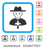 enjoy catholic priest vector... | Shutterstock .eps vector #1016077567