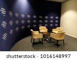 davos  switzerland   jan 25 ... | Shutterstock . vector #1016148997