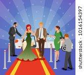 celebrity design composition... | Shutterstock . vector #1016154397