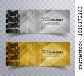 real estate header banner.... | Shutterstock .eps vector #1016172163