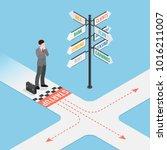 business startup composition... | Shutterstock . vector #1016211007