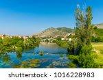 magnificent view of trebinje... | Shutterstock . vector #1016228983