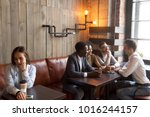 diverse multiracial people... | Shutterstock . vector #1016244157