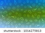 light blue  green vector... | Shutterstock .eps vector #1016275813