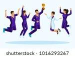 isometrics doctors jump ... | Shutterstock .eps vector #1016293267