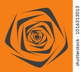 rose. vector flower. beautiful...   Shutterstock .eps vector #1016313013