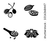 herbs   spices vector icons | Shutterstock .eps vector #1016368447