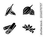 herbs   spices vector icons | Shutterstock .eps vector #1016370757