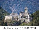 castle taufers in trentino alto ... | Shutterstock . vector #1016420233
