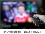 binge watching tv show | Shutterstock . vector #1016440327