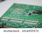 network switch with five ports | Shutterstock . vector #1016455573