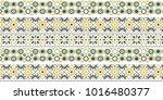 oriental traditional ornament ... | Shutterstock .eps vector #1016480377