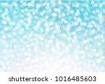 abstract blue bokeh background. ...   Shutterstock .eps vector #1016485603