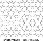 seamless vector pattern in... | Shutterstock .eps vector #1016487337