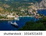 assos or asos village in... | Shutterstock . vector #1016521633