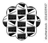 label with movie cinema...   Shutterstock .eps vector #1016535937