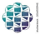 label with movie cinema...   Shutterstock .eps vector #1016535943