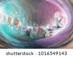 the way making or creating... | Shutterstock . vector #1016549143
