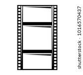 blank film strip negative... | Shutterstock .eps vector #1016570437